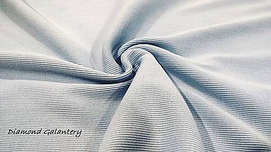 Textil - Patent rebrovaný - cena za 10 centimetrov látky (Svetlá modrá) - 10894782_