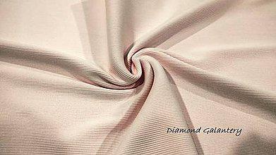 Textil - Patent rebrovaný - cena za 10 centimetrov látky (Svetlá ružová) - 10894819_