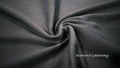 Textil - Patent rebrovaný - cena za 10 centimetrov látky (Tmavo Modrá) - 10894820_