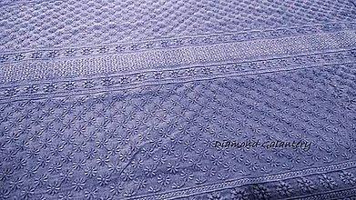 Textil - Madeira - modro fialová - cena za 10 centimetrov - 10896347_