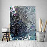 Obrazy - In black_abstract - 10896230_