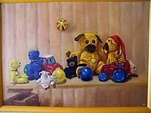 Obrazy - hračky - 10894270_