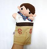 Hračky - Maňuška folk chlapec - na objednávku - 10897059_