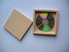 Papiernictvo - krabička na CD - 10897227_