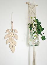 Dekorácie - list rastliny - 10895293_
