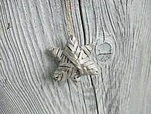 Malá trblietavá hviezda (tmavá strieborná)