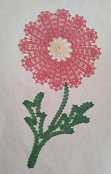 Dekorácie - Paličkovaný kvet - 10894988_