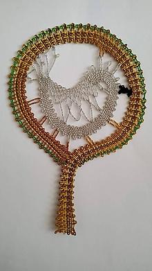 Dekorácie - Paličkovaný strom s vtáčikom - 10896048_