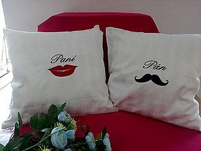 Úžitkový textil - Svadobné vankúšiky - 10896037_