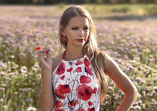 Letný top Poppies
