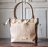 Veľké tašky - Kožená kabelka Casual bag No.3 - 10896184_