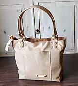 Veľké tašky - Kožená kabelka Casual bag No.3 - 10896186_
