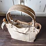 Veľké tašky - Kožená kabelka Casual bag No.3 - 10896187_