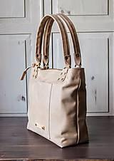 Veľké tašky - Kožená kabelka Casual bag No.3 - 10896188_