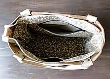 Veľké tašky - Kožená kabelka Casual bag No.3 - 10896190_