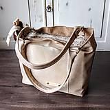 Veľké tašky - Kožená kabelka Casual bag No.3 - 10896191_
