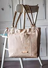 Veľké tašky - Kožená kabelka Casual bag No.3 - 10896192_