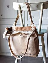 Veľké tašky - Kožená kabelka Casual bag No.3 - 10896193_