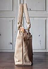 Veľké tašky - Kožená kabelka Casual bag No.3 - 10896199_