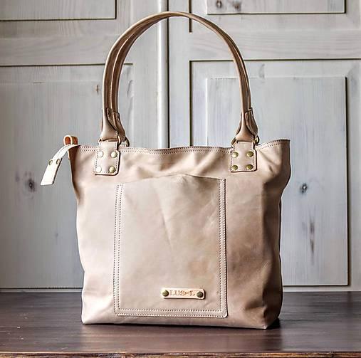 Kožená kabelka Casual bag No.3