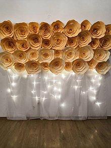 Dekorácie - Kvetinová stena - 10896607_