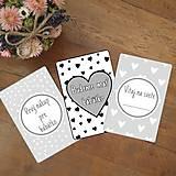 Detské doplnky - Tehotenské miľníkové kartičky 24 ks (A5) - 10894342_