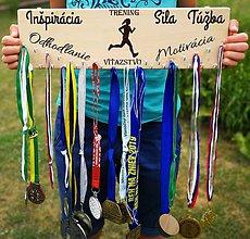 Nezaradené - Držiak na medaily-motivácia - 10895830_