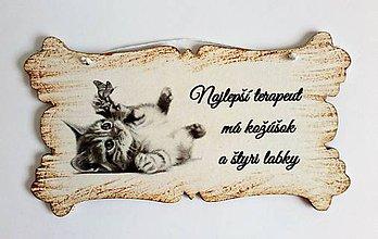 Drobnosti - Tabuľka - NAJLEPŠÍ TERAPEUT - 10896871_
