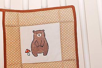 Úžitkový textil - Chňapka - macko - 10894698_