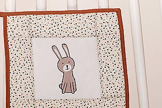 Úžitkový textil - chňapka - zajko - 10894699_