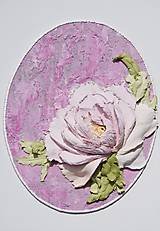 Obrazy - pivonka - sculpture painting - 10897105_