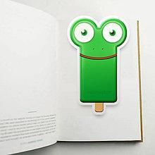 Papiernictvo - Nanuk záložka do knihy - žabka - 10894599_