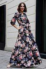 Šaty - Zavinovacie šaty Lúka - 10898288_