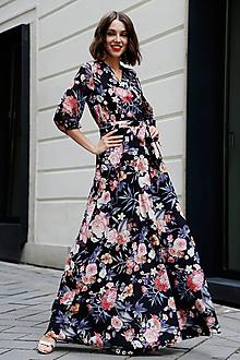 Šaty - Zavinovacie šaty Lúka (38) - 10898288_