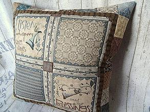 Úžitkový textil - Heart and Soul... vankúš No.1 - 10899247_