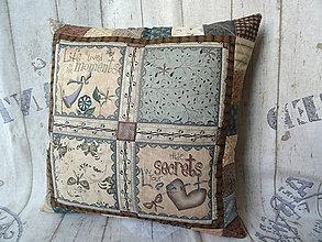 Úžitkový textil - Heart and Soul... vankúš No.2 - 10899263_
