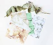 Papiernictvo - Oddeľovače do diára A5, Marble - 10899258_