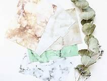 Papiernictvo - Oddeľovače do diára A5, Marble - 10899259_