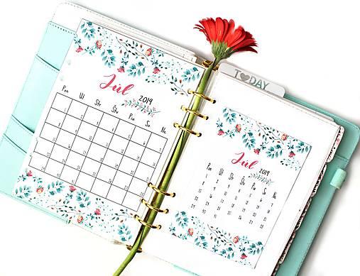 Kalendáre A6 +A5 na celý rok (PDF na stiahnutie)