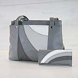 Veľké tašky - Kožený set - Anita s peňaženkou - 10900184_