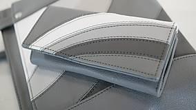 Veľké tašky - Kožený set - Anita s peňaženkou - 10900188_