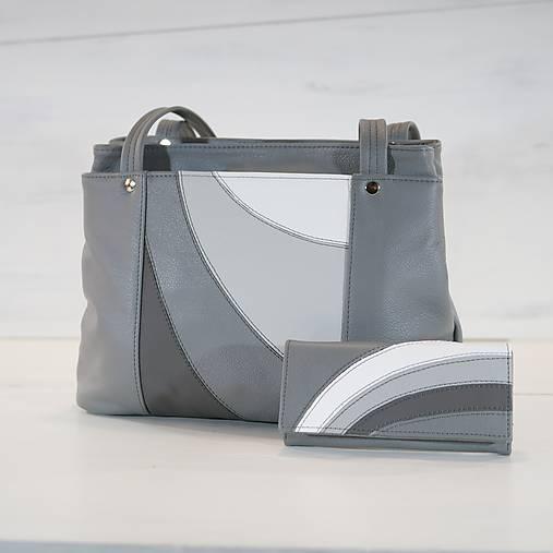 Kožený set - Anita s peňaženkou