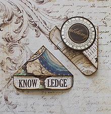 Papiernictvo - Francúzske záložky KNOWLEDGE - 10898533_