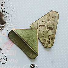 Papiernictvo - Francúzske záložky GREEN GARDEN - 10898628_