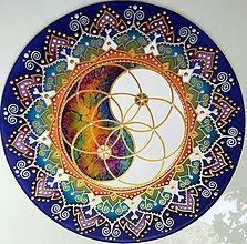 Dekorácie - Mandala...Vemírna rovnováha - 10898843_