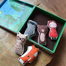 Hračky - Zvieratka z lesa - 10898573_