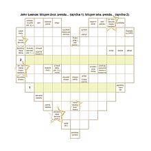 Grafika - Svadobné srdiečko so zaujímavými údajmi o mladomanželoch - 10897997_