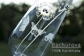 Nádoby - Svadobné poháresvadobné poháre, púpavy - 10897807_