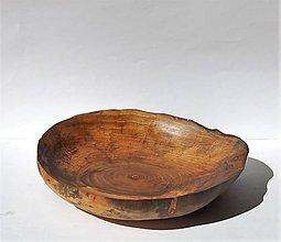 Nádoby - Drevená mištička - Orechová 1 - 10899189_