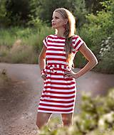Šaty - Vreckové šaty Clown - S/M - 10899122_